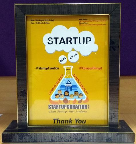 Startup Award To Budli